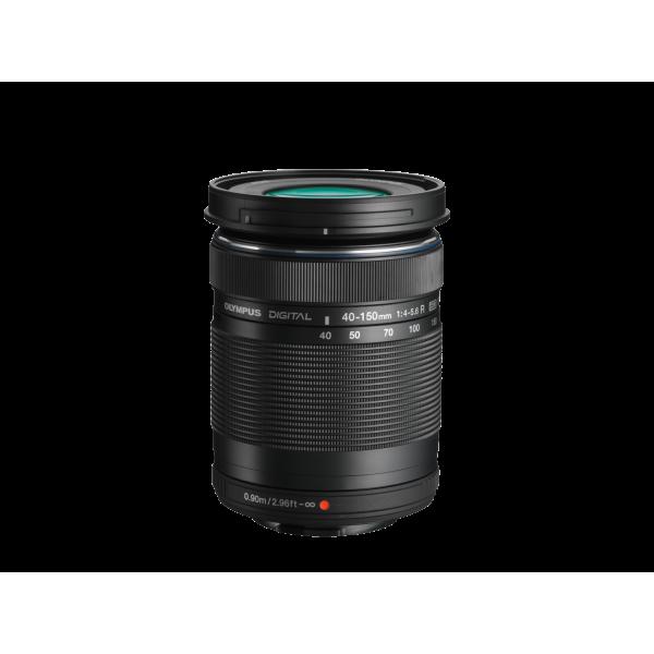 Olympus OM-D E-M10 Mark III digitális fényképezőgép DZK kit, 14‑42mm II R és ED 40‑150mm R objektívekkel 14