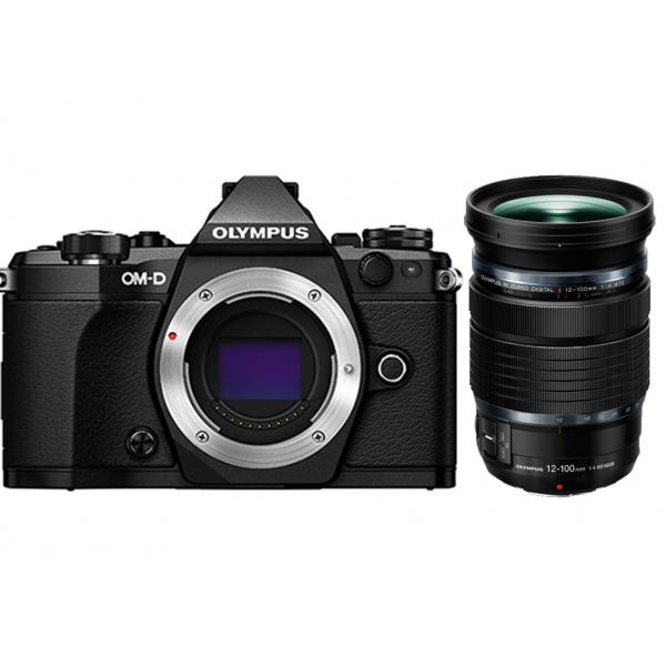 Olympus OM-D E-M5 Mark II digitális fényképezőgép 12-100mm IS PRO KIT, M.ZUIKO DIGITAL ED 12-100mm 1:4.0 IS PRO objektívvel 03