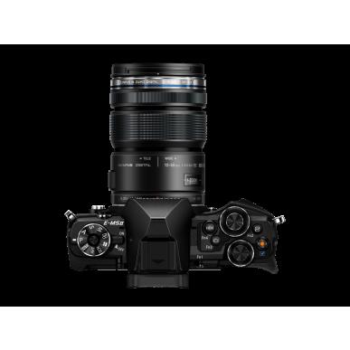 Olympus OM-D E-M5 Mark II digitális fényképezőgép kit, M.ZUIKO 12‑50mm EZ objektívvel 10