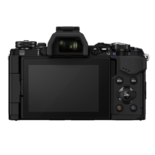 Olympus OM-D E-M5 Mark II digitális fényképezőgép kit, M.ZUIKO DIGITAL ED 14‑150mm II objektívvel 14