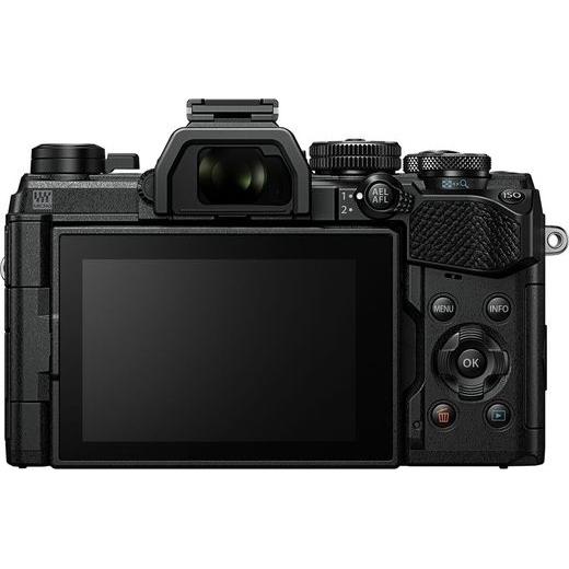Olympus OM-D E-M5 Mark III digitális fényképezőgép váz + M. Zuiko Digital 12 mm objektív Vlogger KIT 07