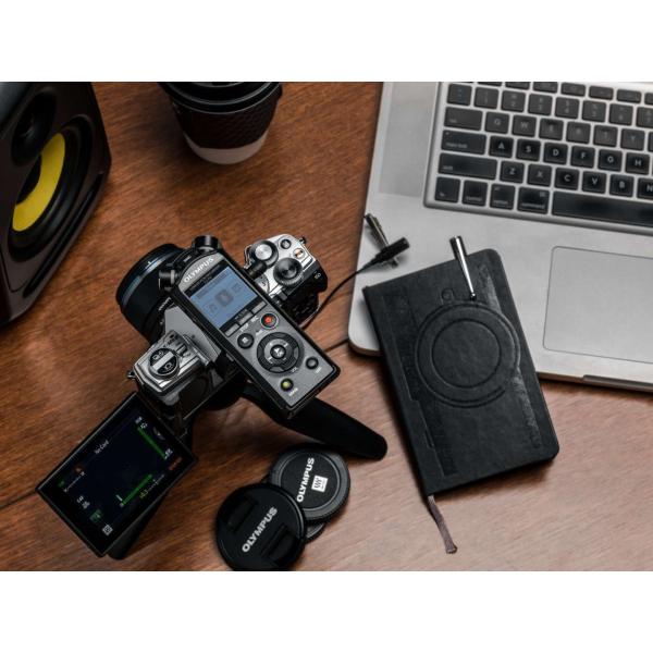 Olympus OM-D E-M5 Mark III digitális fényképezőgép váz + M. Zuiko Digital 12 mm objektív Vlogger KIT 11