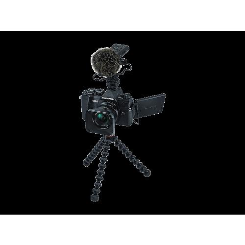 Olympus OM-D E-M5 Mark III digitális fényképezőgép váz + M. Zuiko Digital 12 mm objektív Vlogger KIT 03