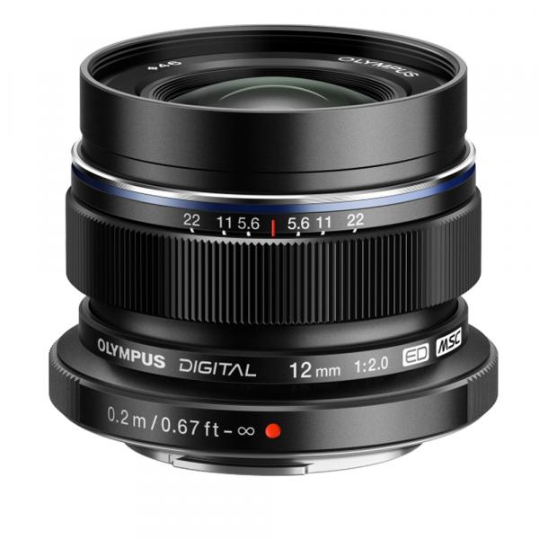 Olympus OM-D E-M5 Mark III digitális fényképezőgép váz + M. Zuiko Digital 12 mm objektív Vlogger KIT 08