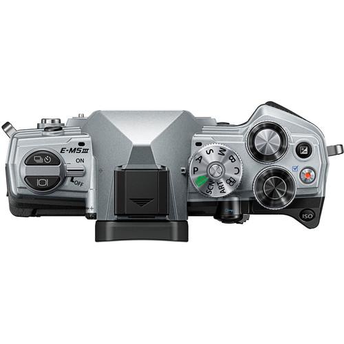 Olympus OM-D E-M5 Mark III digitális fényképezőgép váz  + M. Zuiko Digital 14-42mm EZ 1:3.5-5.6 objektív 13