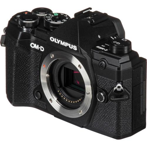 Olympus OM-D E-M5 Mark III digitális fényképezőgép váz  + M. Zuiko Digital 14-42mm EZ 1:3.5-5.6 objektív 08