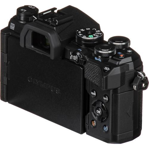 Olympus OM-D E-M5 Mark III digitális fényképezőgép váz  + M. Zuiko Digital 14-42mm EZ 1:3.5-5.6 objektív 06