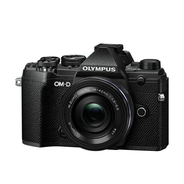 Olympus OM-D E-M5 Mark III digitális fényképezőgép váz  + M. Zuiko Digital 14-42mm EZ 1:3.5-5.6 objektív 03