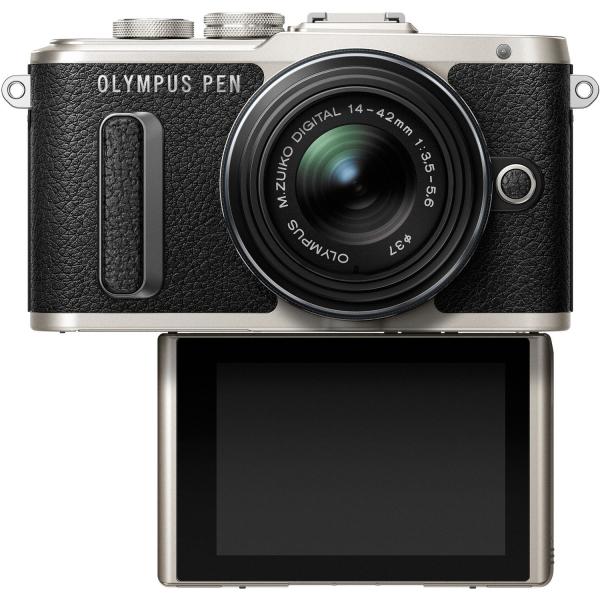 Olympus Pen E-PL8 digitális fényképezőgép, M.ZUIKO DIGITAL 14‑42mm 1:3.5‑5.6 II R objektívvel 04