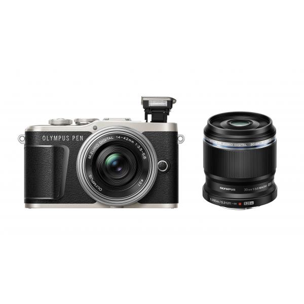 Olympus Pen E-PL9 digitális fényképezőgép, Get Ready Kit 03