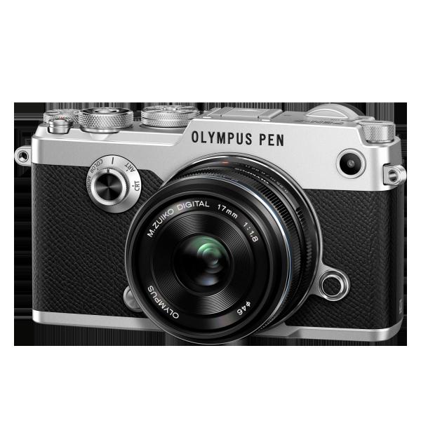 Olympus PEN-F 1718 Kit, M.ZUIKO DIGITAL 17mm 1:1.8 objektívvel 04
