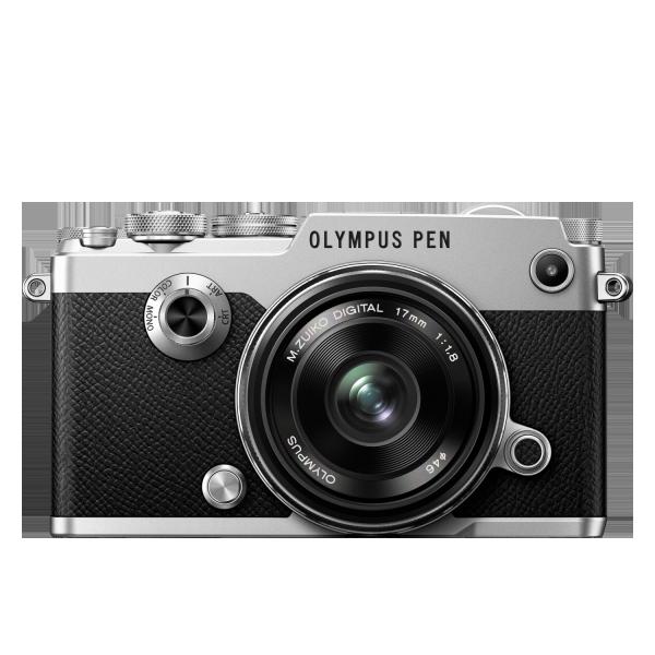 Olympus PEN-F 1718 Kit, M.ZUIKO DIGITAL 17mm 1:1.8 objektívvel 03