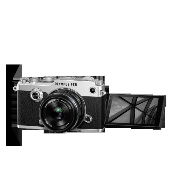 Olympus PEN-F 1718 Kit, M.ZUIKO DIGITAL 17mm 1:1.8 objektívvel 07