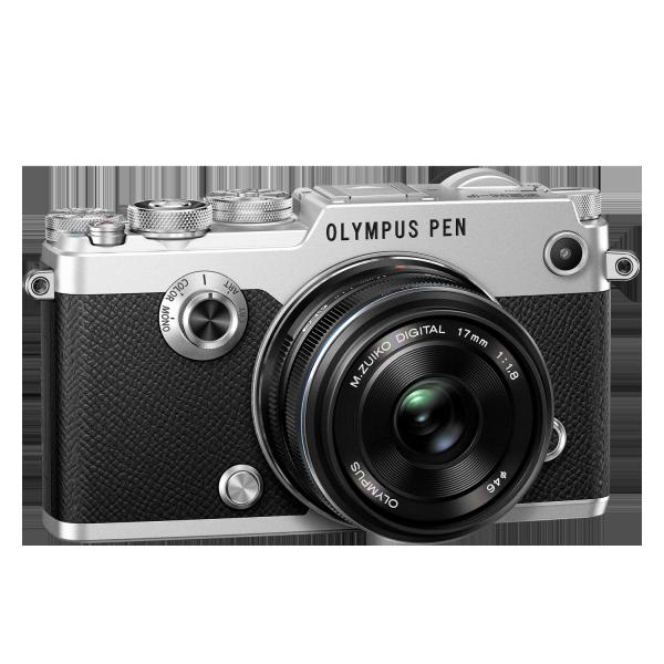 Olympus PEN-F 1718 Kit, M.ZUIKO DIGITAL 17mm 1:1.8 objektívvel 05
