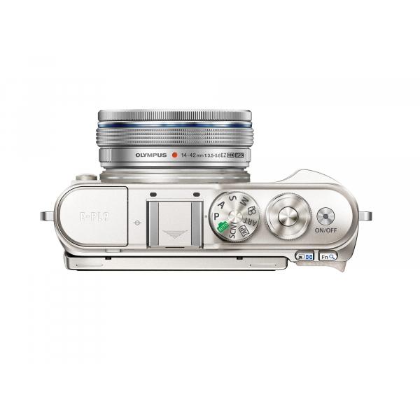 Olympus Pen Lite E-PL9 Pancake Zoom Kit: M.Zuiko Digital ED 14‑42mm 1:3.5‑5.6 EZ Pancake objektívvel 08