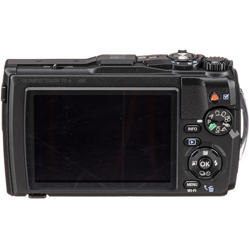 Olympus TG-6 vízálló fényképezőgép 05
