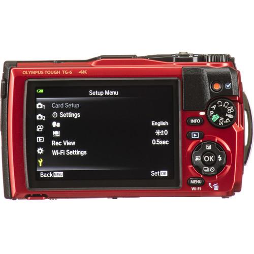 Olympus TG-6 vízálló fényképezőgép 31