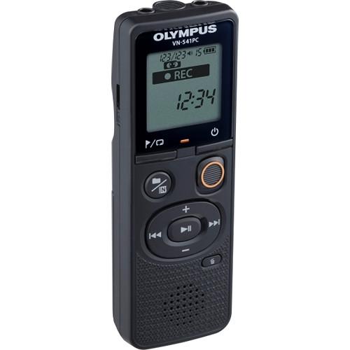 Olympus VN-541PC diktafon + CS131 tok 04