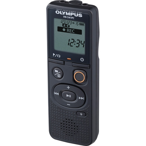 Olympus VN-541PC diktafon + CS131 tok 05
