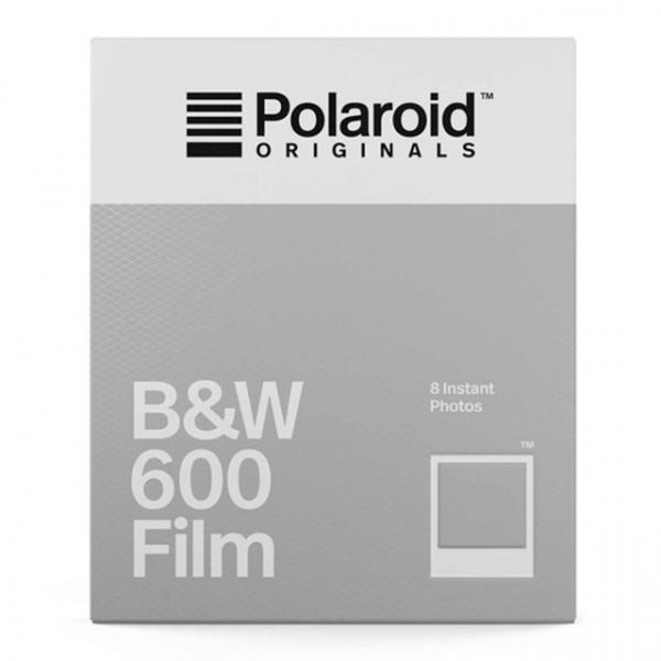 Polaroid fekete-fehér 600 Film, fehér kerettel, Polaroid 600 és i-Type kamerához, 8db instant fotó 03