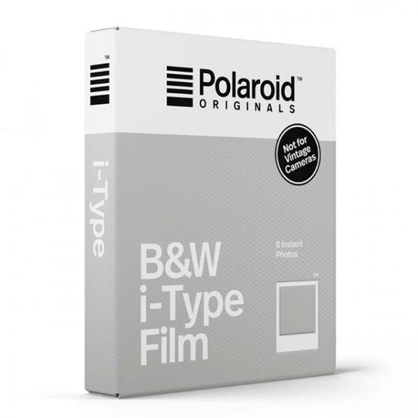 Polaroid fekete-fehér Film, fehér kerettel, új i-Type kamerához, 8db instant fotó 04