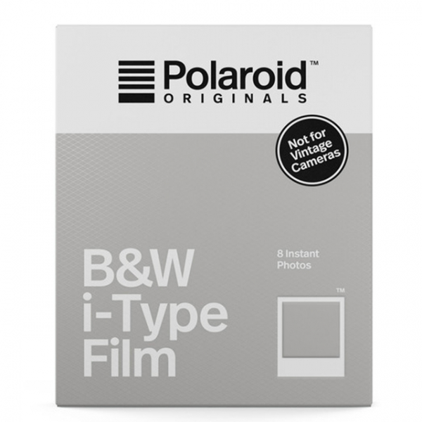 Polaroid fekete-fehér Film, fehér kerettel, új i-Type kamerához, 8db instant fotó 03