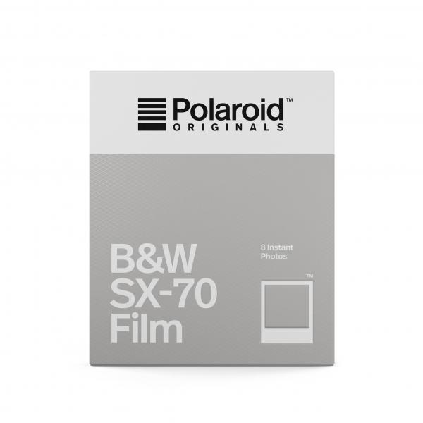 Polaroid fekete-fehér SX-70 Film, fehér kerettel, SX-70 kamerához, 8db instant fotó 03