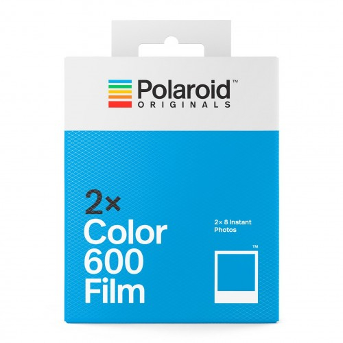 Polaroid színes 600 Film, fehér kerettel, Polaroid 600 és új i-Type kamerához, 16db instant fotó 03