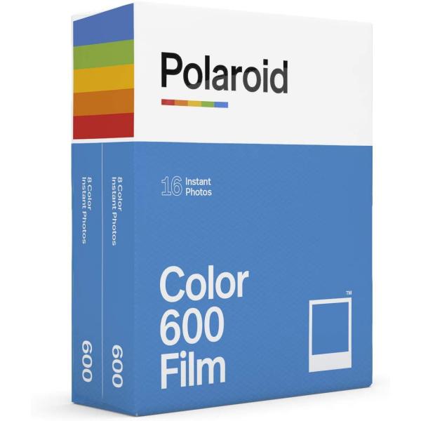 Polaroid színes 600 Film, fehér kerettel, Polaroid 600 és új i-Type kamerához, 16db instant fotó 04
