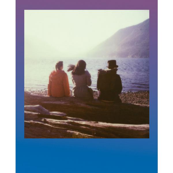Polaroid színes i-Type Film, 8 féle kék kerettel, Summer Blues, i-Type kamerához, 8db instant fotó 06