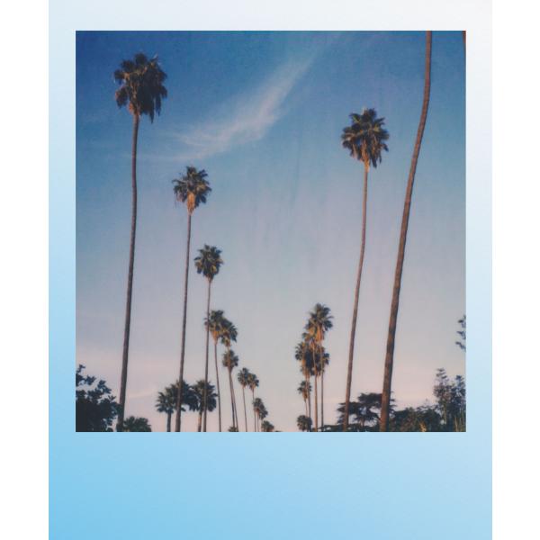 Polaroid színes i-Type Film, 8 féle kék kerettel, Summer Blues, i-Type kamerához, 8db instant fotó 05