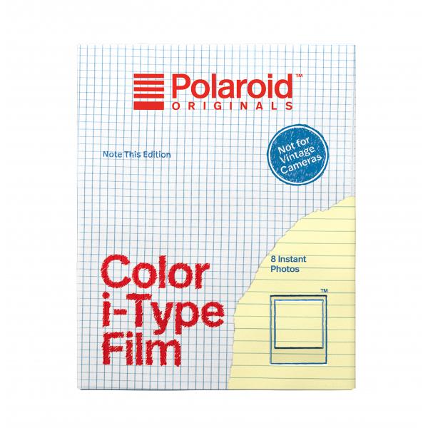 Polaroid színes i-Type Film, 8 féle mintás kerettel, Note This, i-Type kamerához, 8db instant fotó 03