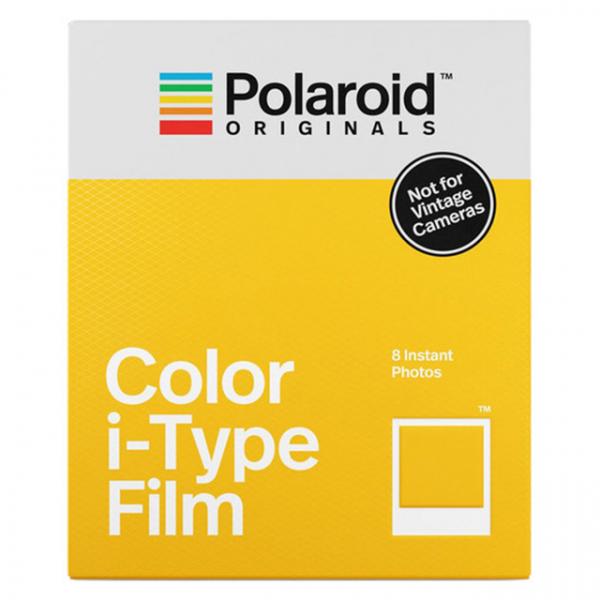 Polaroid színes i-Type Film, fehér kerettel, új i-Type kamerához, 8db instant fotó 03