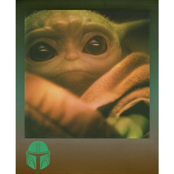 Polaroid színes i-Type film, The Mandalorian Edition, i-Type kamerához, 8 db instant fotó 05