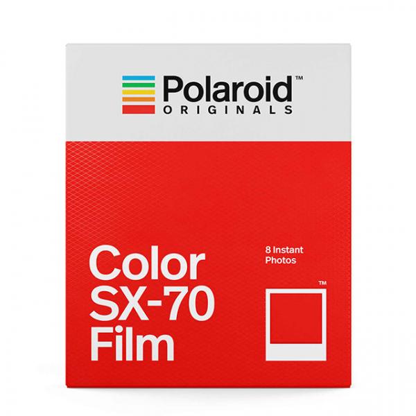 Polaroid színes SX-70 Film, fehér kerettel, SX-70 kamerához, 8db instant fotó 03