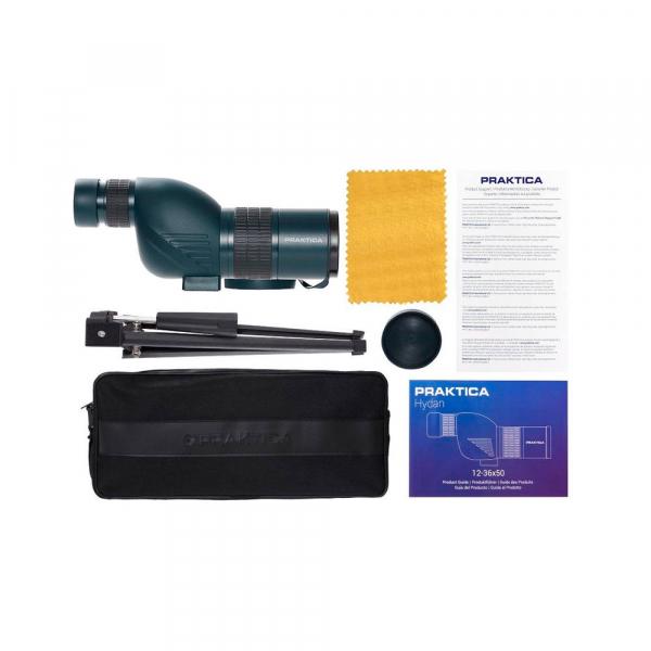Praktica Hydan 12-36x50mm egyenes spektív asztali állvánnyal 06