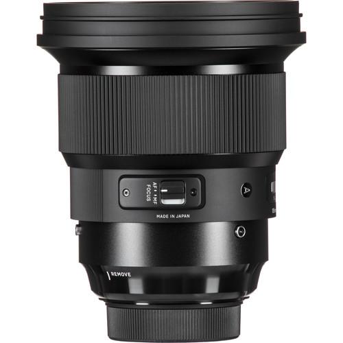 Sigma 105 mm F1.4 DG HSM Art objektív Canon fényképezőgépekhez 07