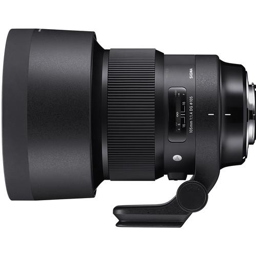 Sigma 105 mm F1.4 DG HSM Art objektív Canon fényképezőgépekhez 04