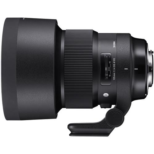 Sigma 105 mm F1.4 DG HSM Art objektív Nikon fényképezőgépekhez 04