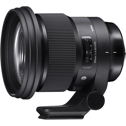 Sigma 105 mm F1.4 DG HSM Art objektív Nikon fényképezőgépekhez 03