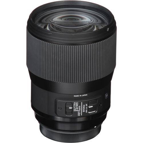 Sigma 135 mm F1.8 DG HSM Art objektív Canon fényképezőgépekhez 06