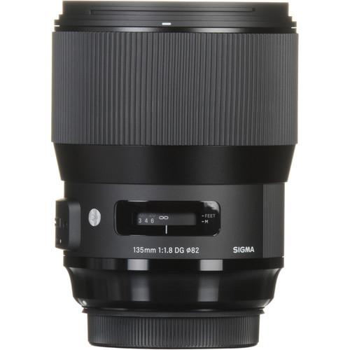 Sigma 135 mm F1.8 DG HSM Art objektív Canon fényképezőgépekhez 09