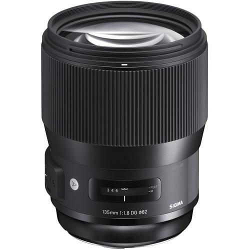 Sigma 135 mm F1.8 DG HSM Art objektív Canon fényképezőgépekhez 12