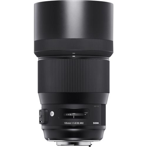 Sigma 135 mm F1.8 DG HSM Art objektív, Nikon fényképezőgépekhez 09