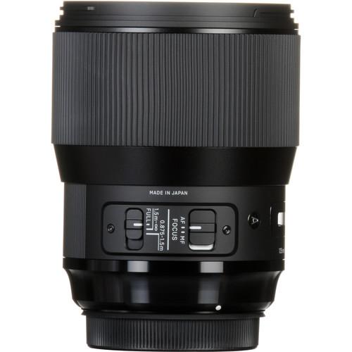 Sigma 135 mm F1.8 DG HSM Art objektív Sony fényképezőgépekhez 06