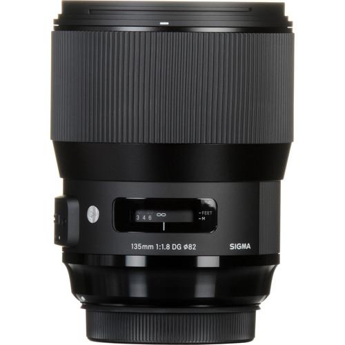 Sigma 135 mm F1.8 DG HSM Art objektív Sony fényképezőgépekhez 03
