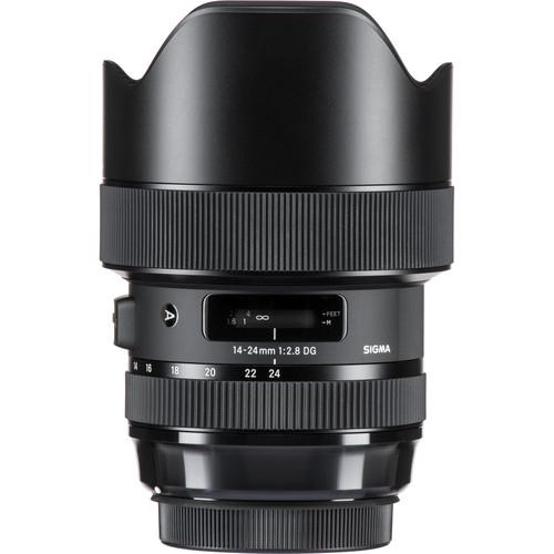 Sigma 14-24 mm F2.8 DG HSM objektív, Canon fényképezőgépekhez 10
