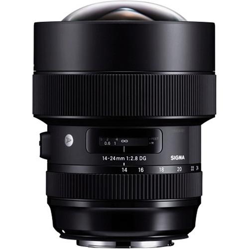 Sigma 14-24 mm F2.8 DG HSM objektív, Canon fényképezőgépekhez 11
