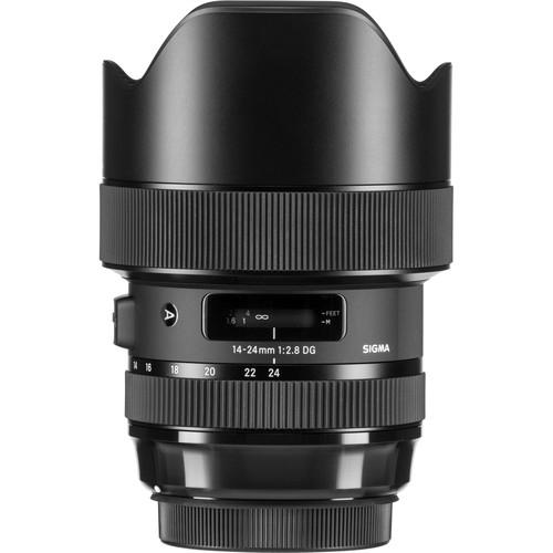Sigma 14-24 mm F2.8 DG HSM objektív, Nikon fényképezőgépekhez 10