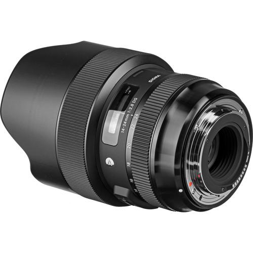 Sigma 14-24 mm F2.8 DG HSM objektív, Nikon fényképezőgépekhez 06